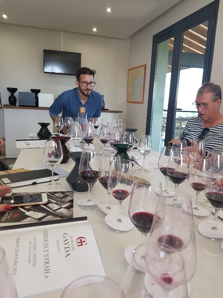 Wijnmaker Vincent Chansault
