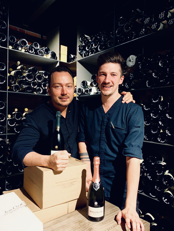 Adrian Zarzo en Joost Bax