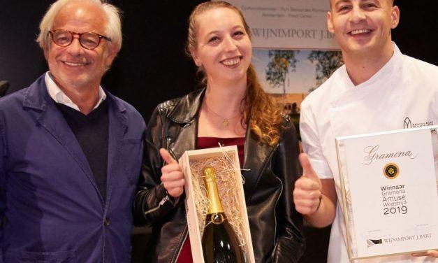 Restaurant Basiliek wint Gramona Amuse Wedstrijd 2019