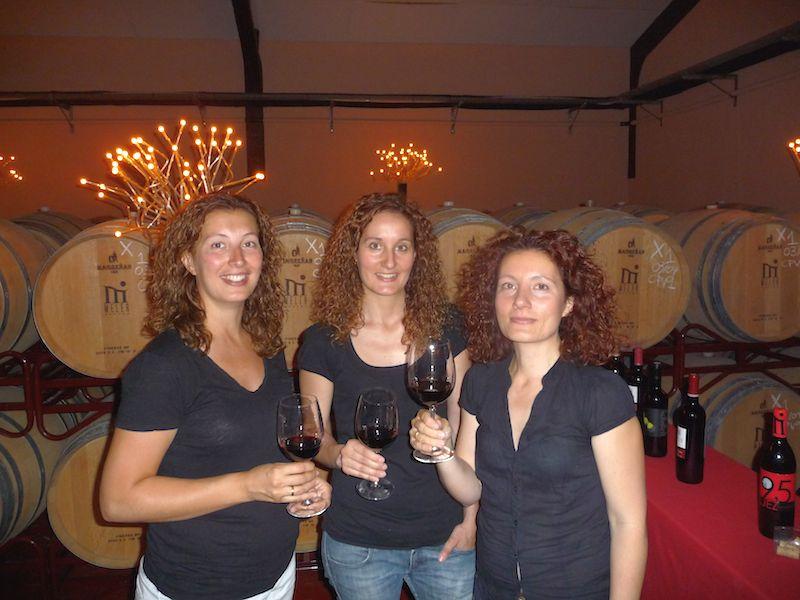 Maria, Ana en Isabel Meler