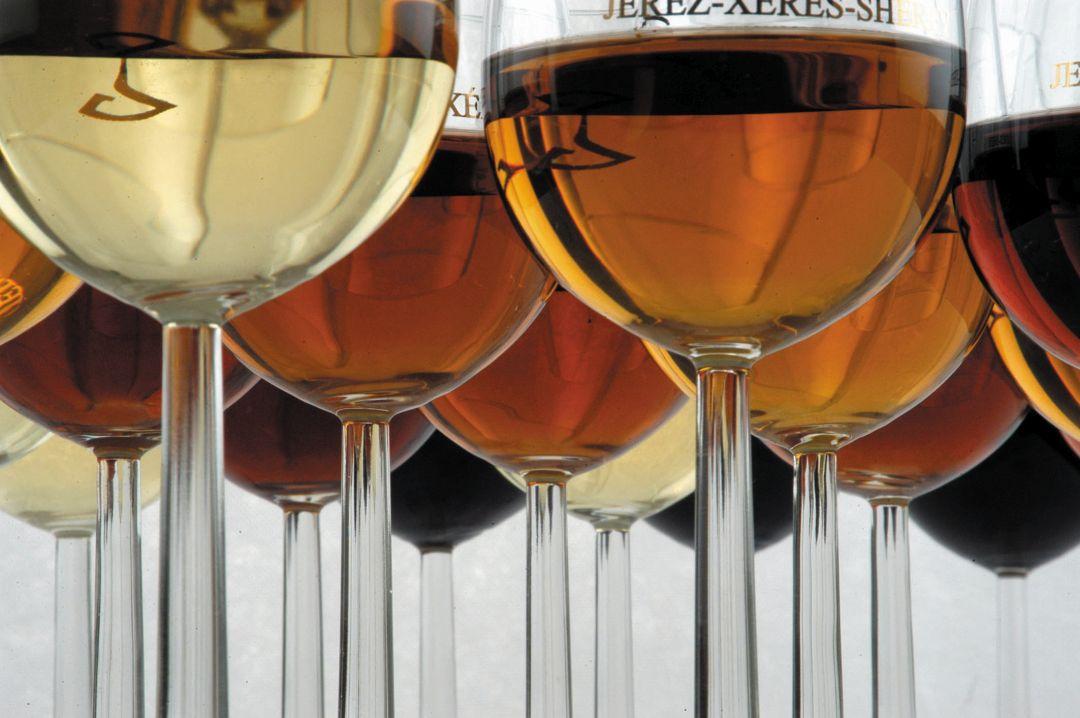 glazen sherry