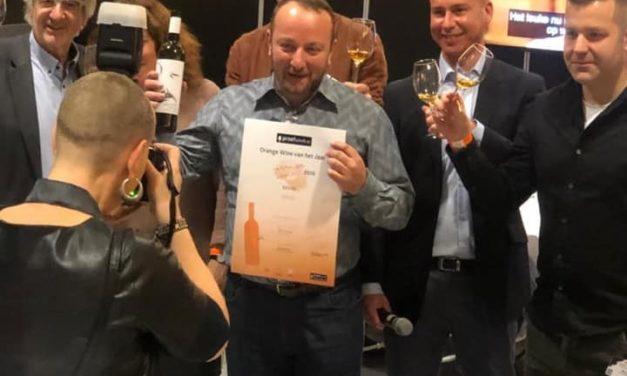 Georgische winnaar Proefschrift Orange Wine Concours