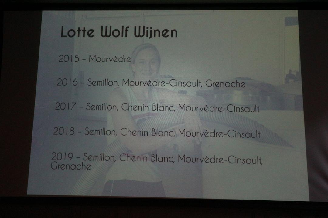 De wijnen van Lotte Wolf