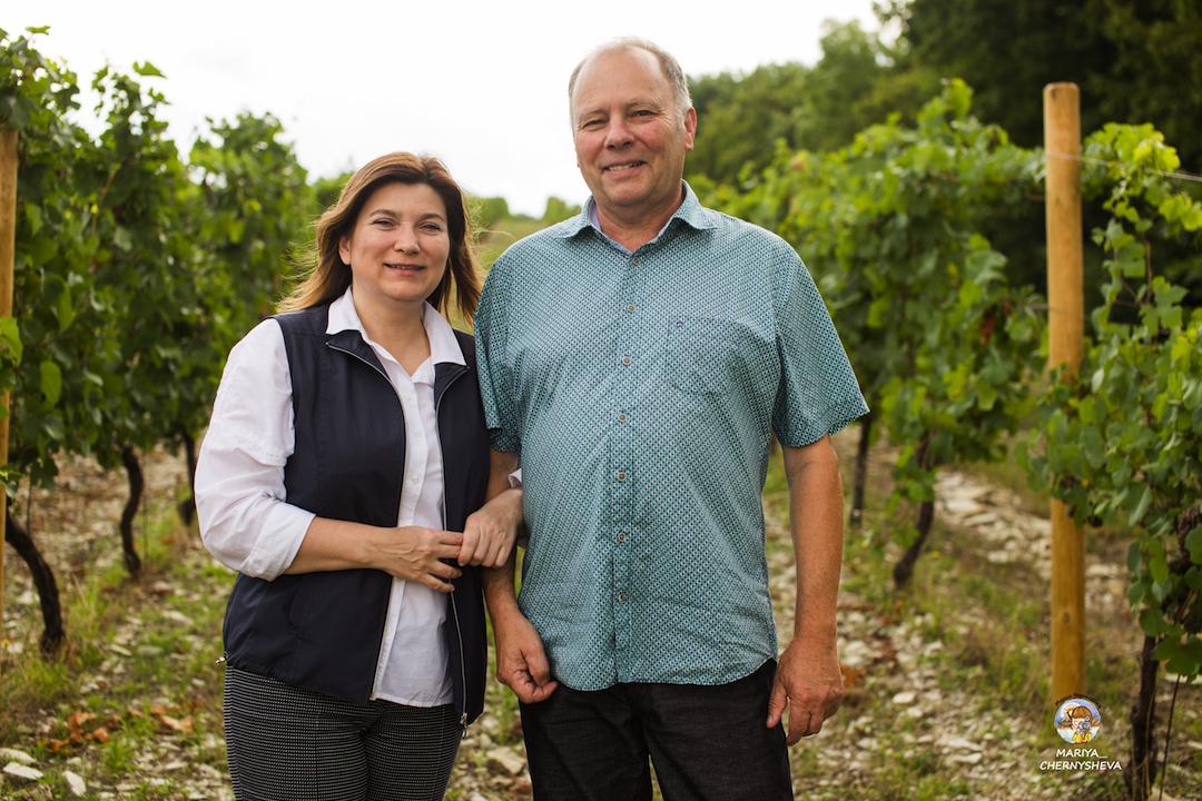 Marina en Renaud Burnier
