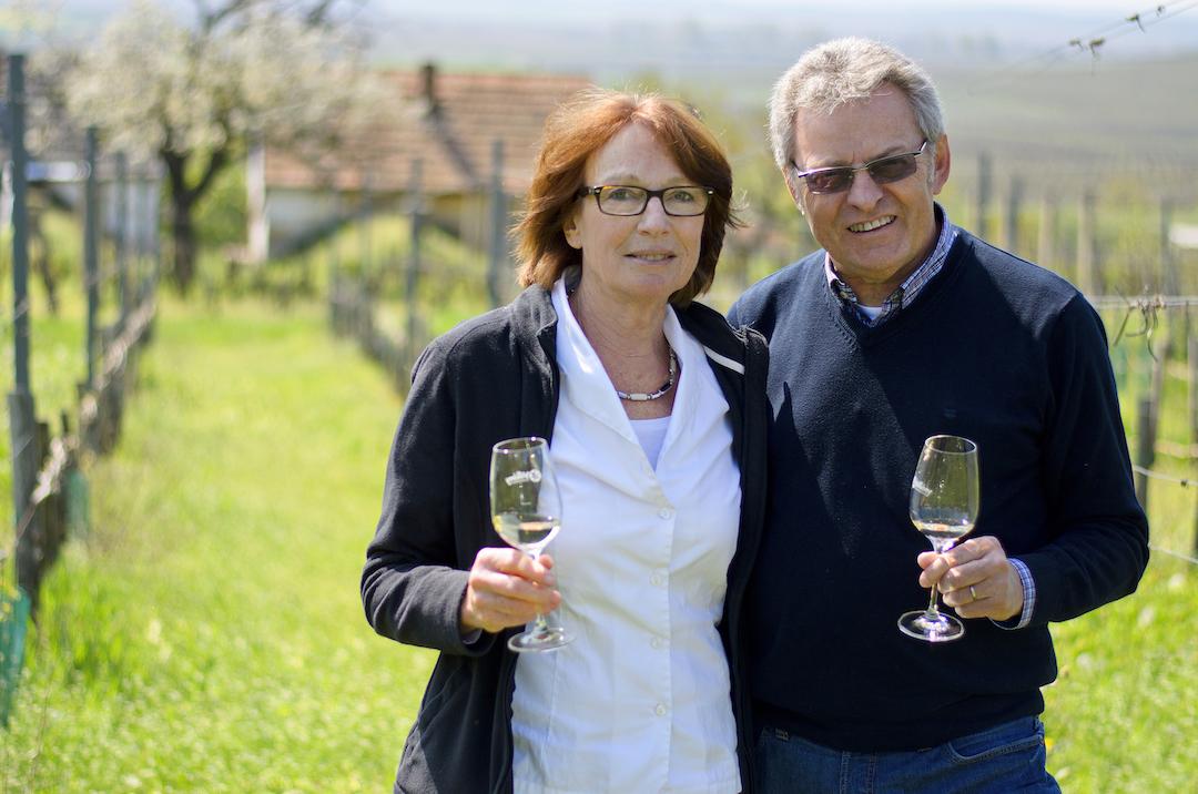 Evelyne en Erhard Heumann