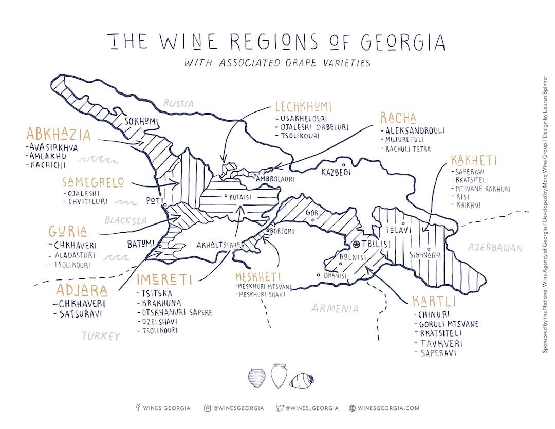 Wijnstreken Georgië