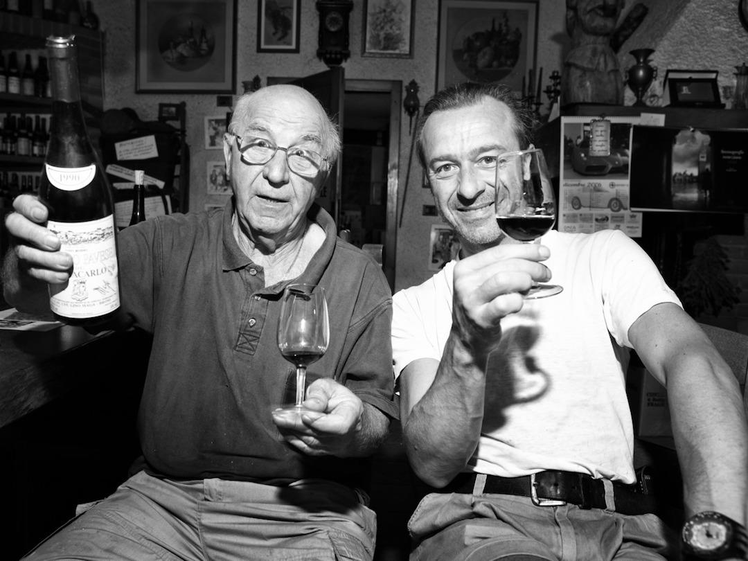 Lino en Giuseppe Maga