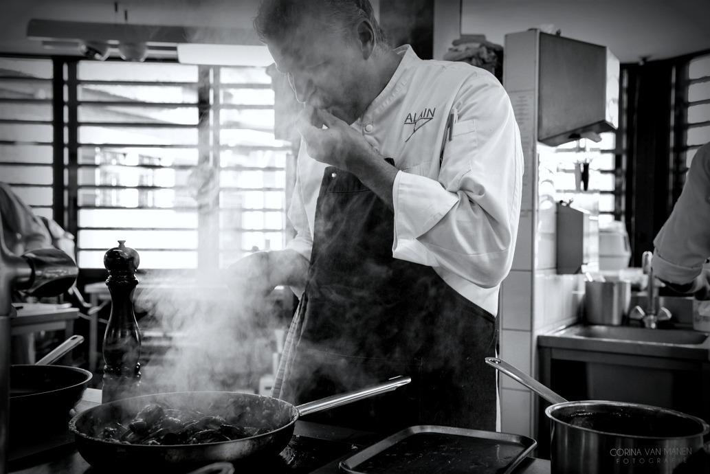 Alain in de keuken