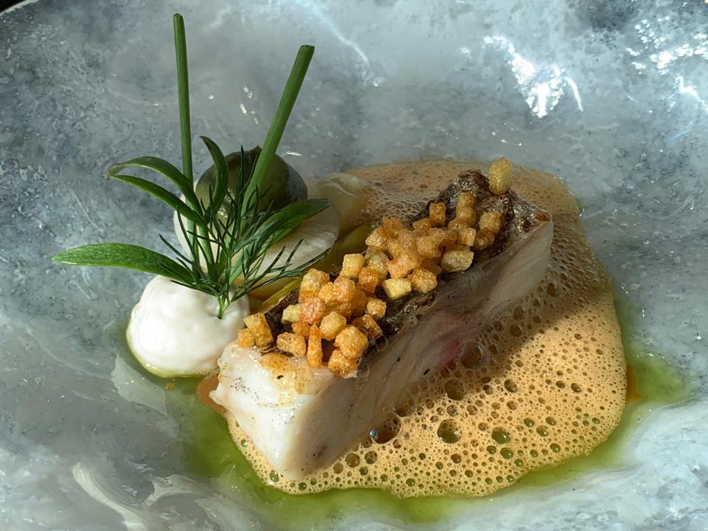 zeebaars, oester