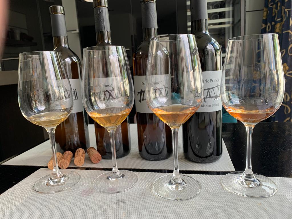 Wijnen van Dario Prinčič