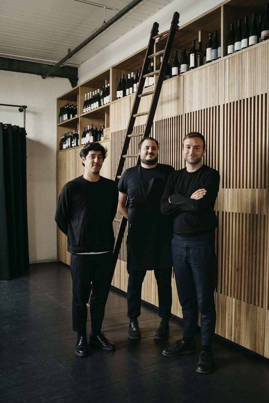 Alessandro Da Fies, Benny Blisto, Pieter Sanders - © Chantal Arnts