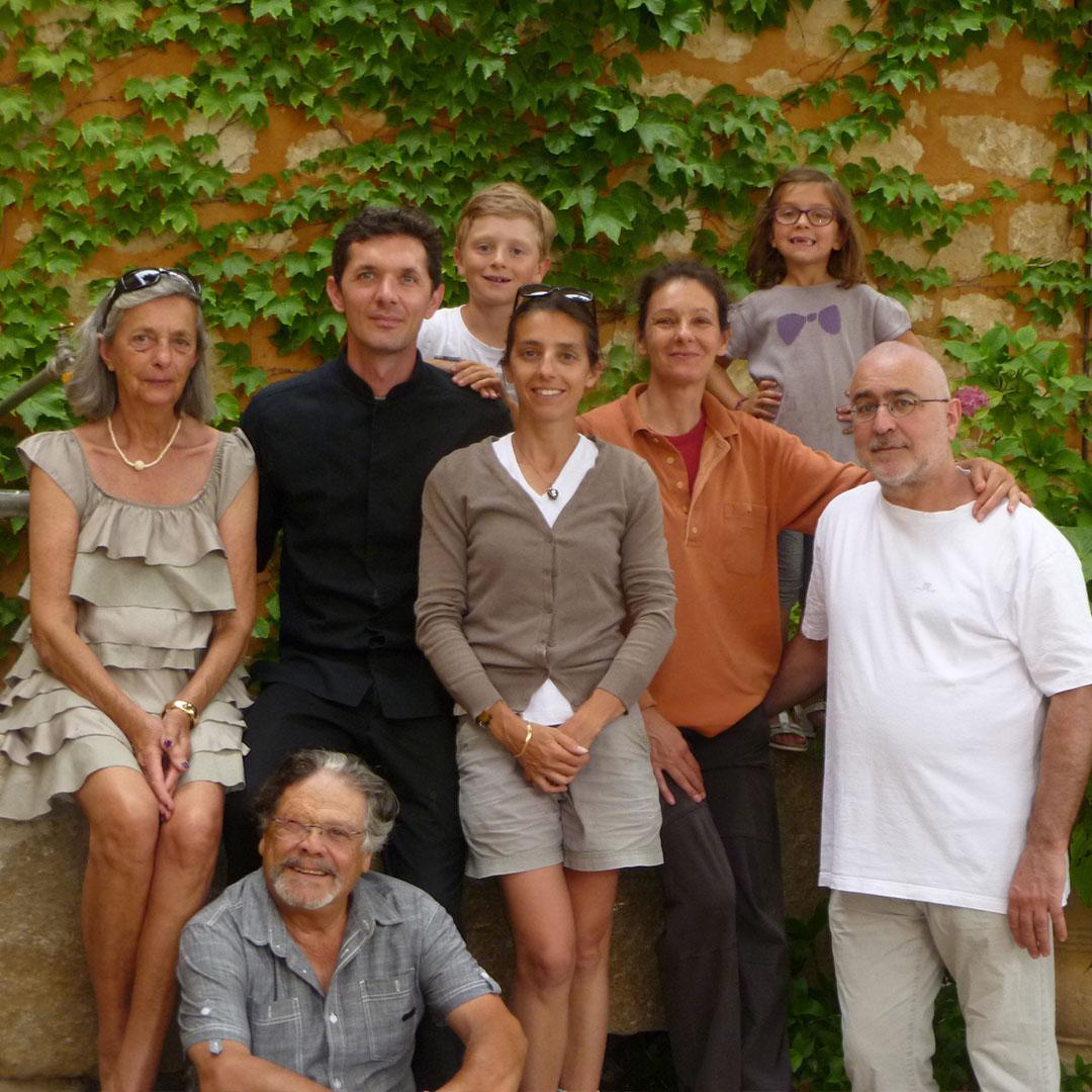 Nancy Gontier en familie, Domaine de la Camarette, Ventoux