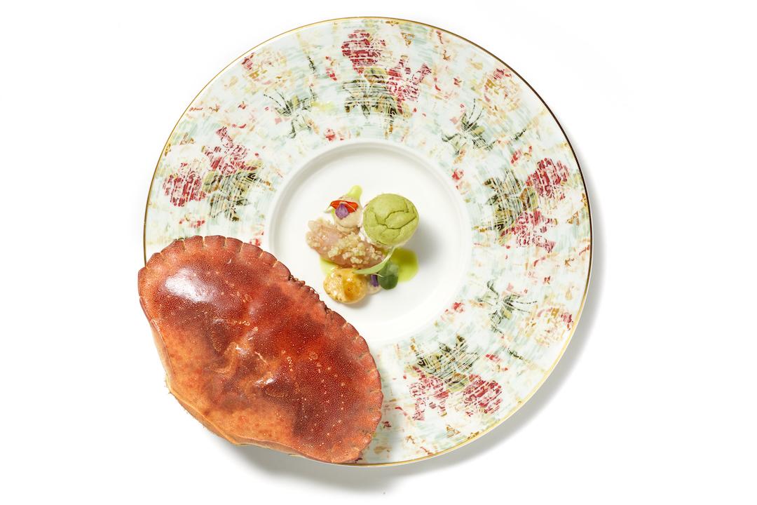 Krab & yuzu vs. langoustine en sambai