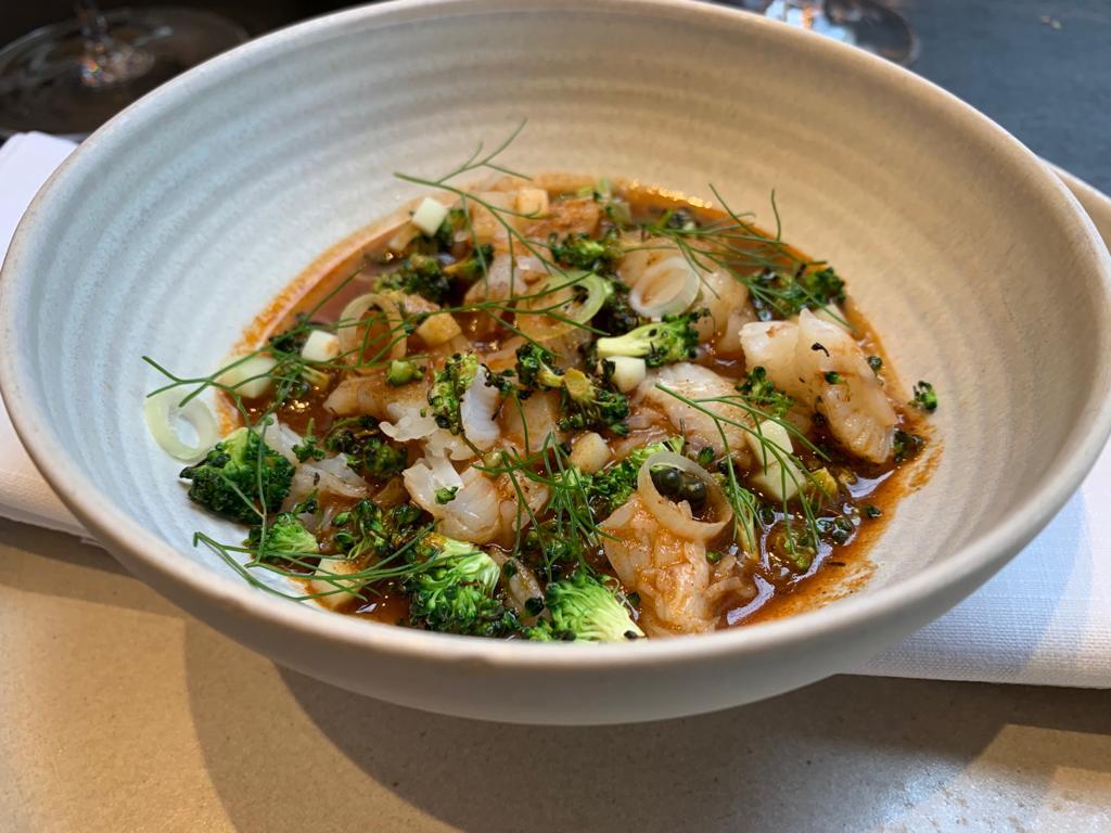 chawanmushi noordzeekrab broccoli