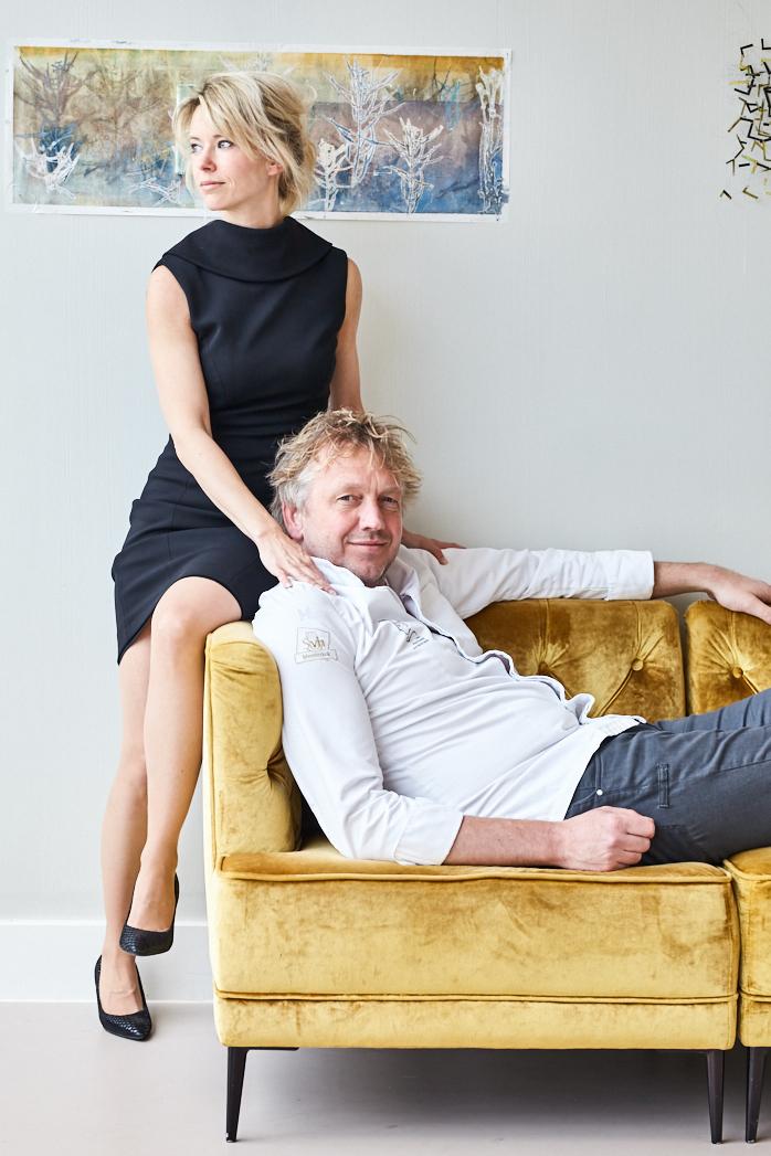 Jef Schuur en Nadine Mögling