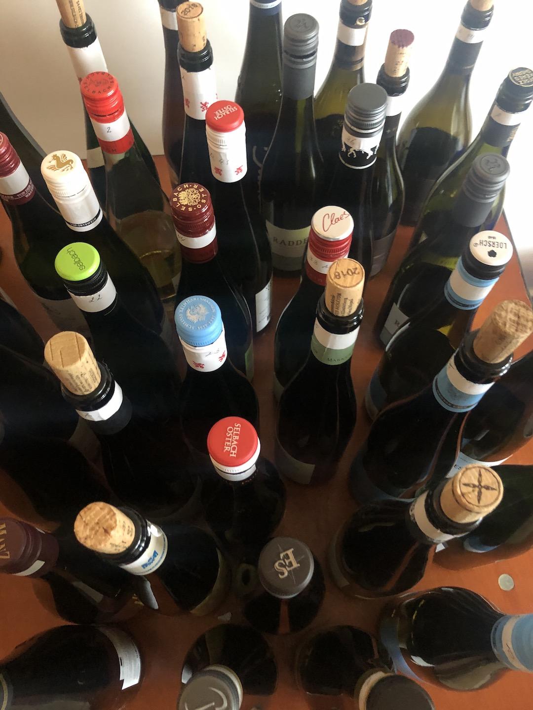 wijnflessen Wines of Germany Gastro Cup