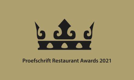 Proefschrift Restaurant Awards 2021