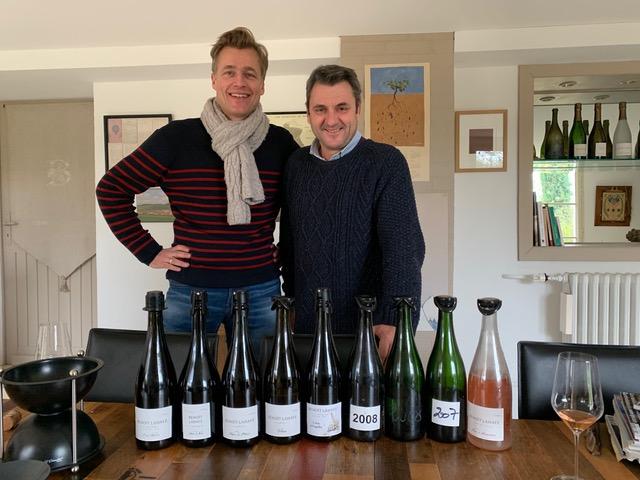 Mark Haasdijk en Benoît Lahaye