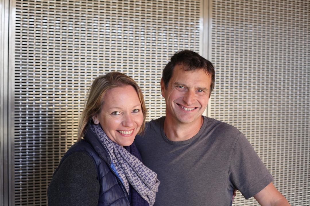 Erin en Jean-Louis Chave