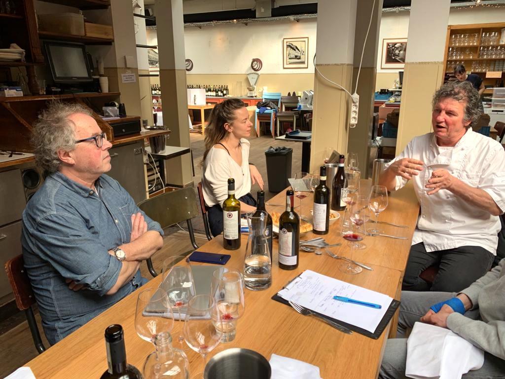 Wijn & spijs bij Toscanini