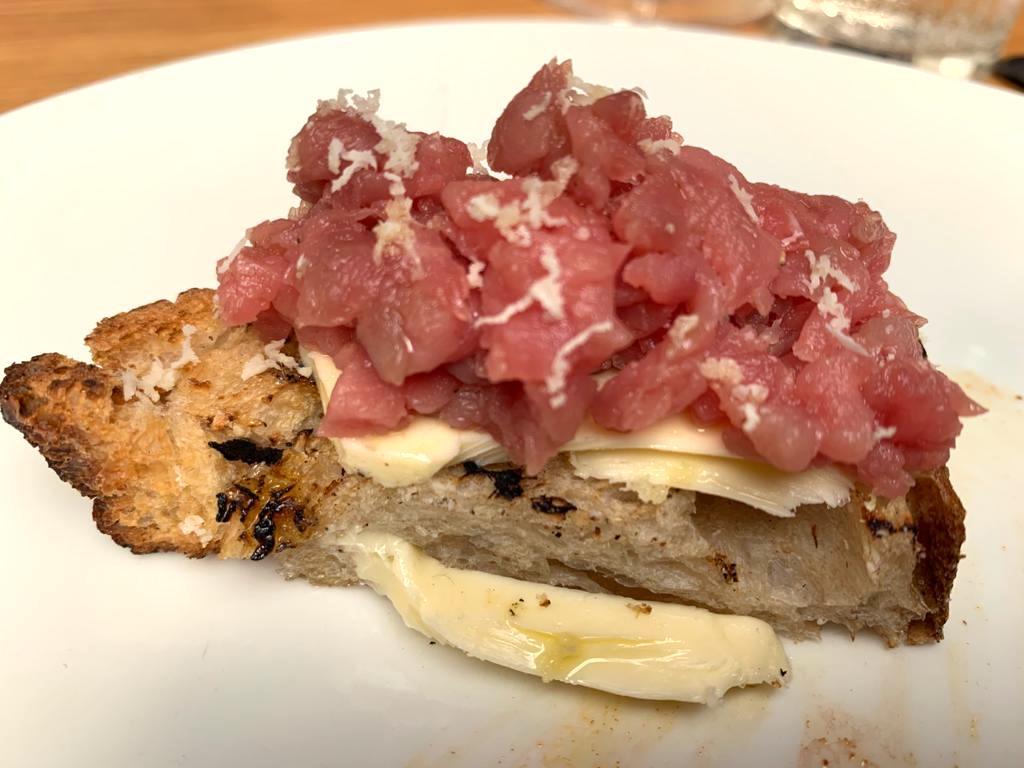 bruschetta carne cruda