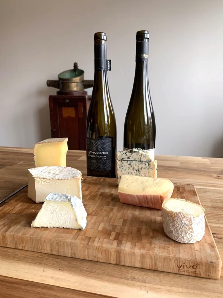 kaas en wijn