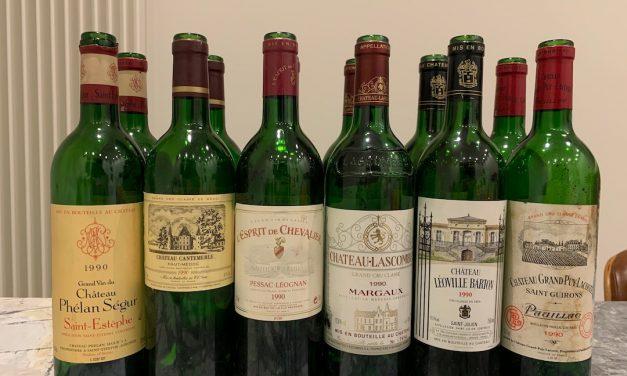 Online Deepdive Bordeaux 1990 Left Bank