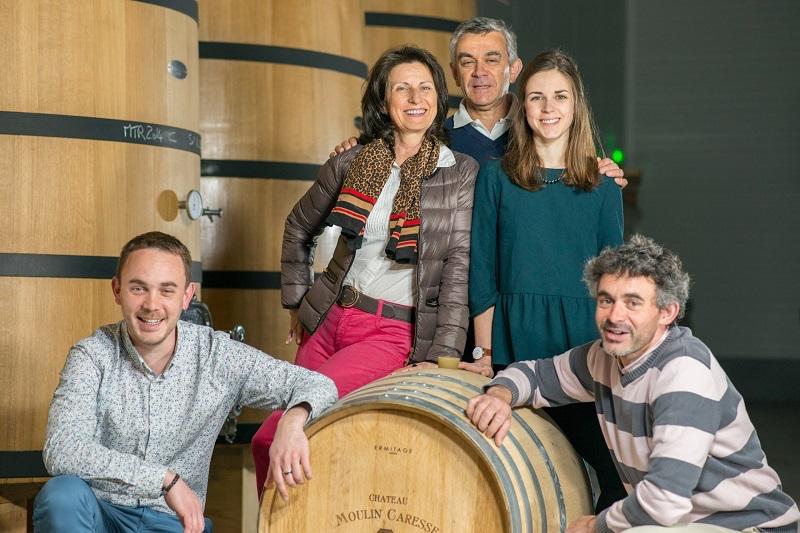 Familie Deffarge, Moulin Caresse